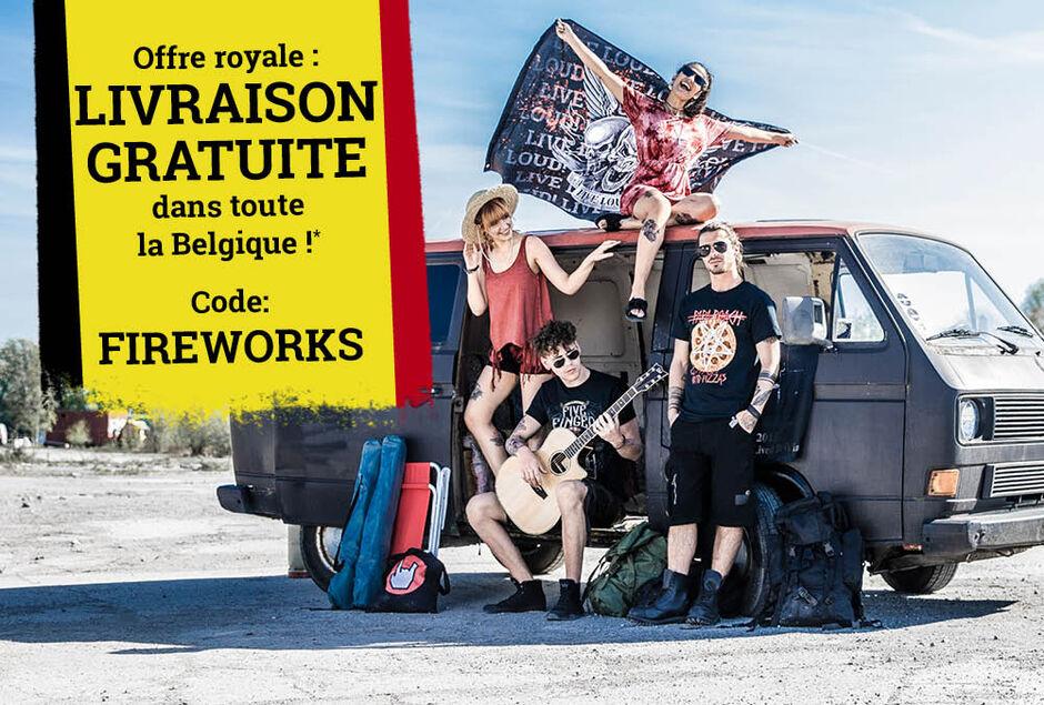 Livraison gratuite dans toute la Belgique !*