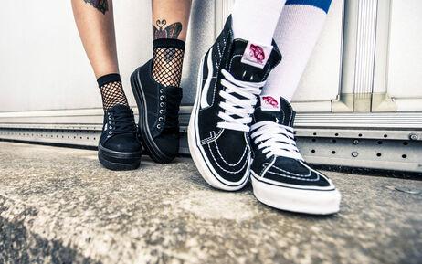 Nieuwe schoenen en sneakers