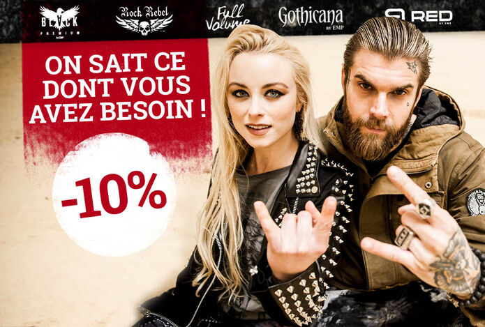 -10 % sur nos marques exclusives !