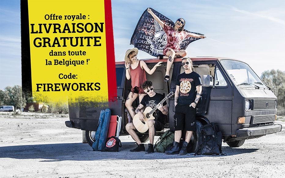 Livraison gratuite dans toute la Belgique !