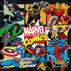 2021 Wall Calendar  - Comics Classic