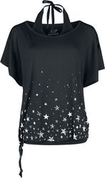 2-En-1 - T-Shirt & Top Dos Nu