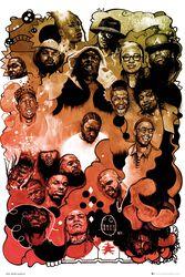 Rap Gods Watercolour
