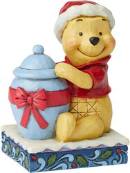 Figurine Winnie l'Ourson Noël