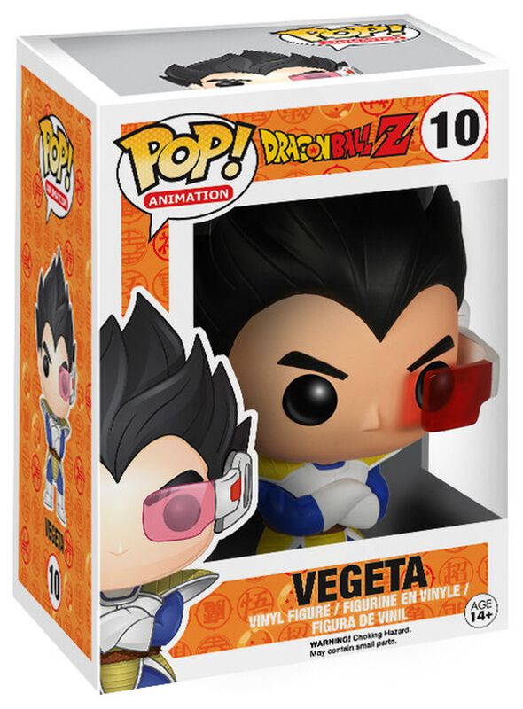 Dragon Ball Z - Vegeta - Funko Pop! n°10