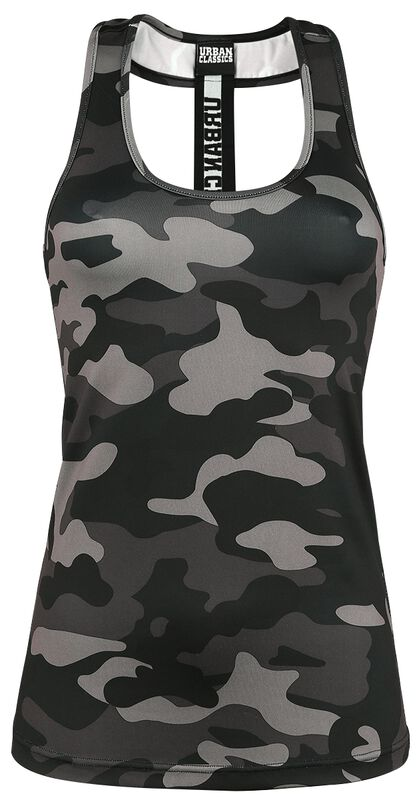 Ladies Camo Top