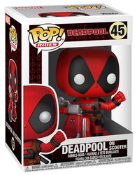 Deadpool on Scooter Vinylfiguur 45