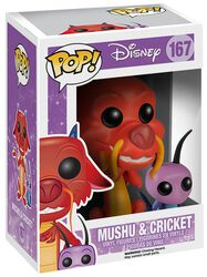 Mushu and Cricket Vinylfiguur 167