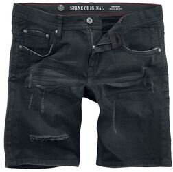 Regular Fit Denim Shorts