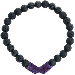 Bracelet Flèche Violette