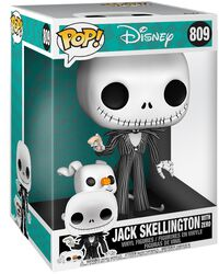 Jack Skellington With Zero (Life Size) Vinylfiguur 809