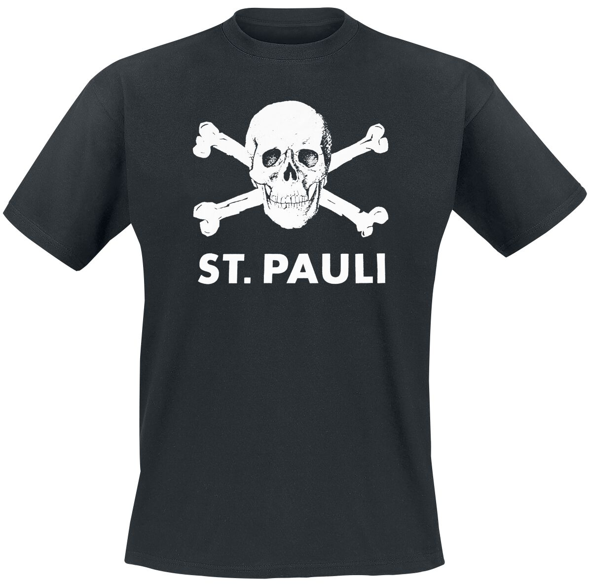 skull fc st pauli t shirt large. Black Bedroom Furniture Sets. Home Design Ideas