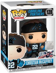 Carolina Panthers - Christian McCaffrey Vinylfiguur 128