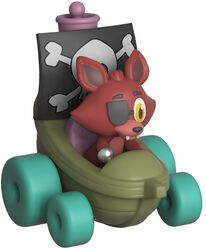 Super Racers  - Foxy the Pirate Vinylfiguur