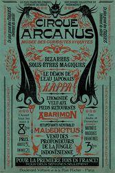 Les Crimes Grindelwald - Le Cirque Arcanus