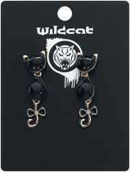 Cats with Bow Earstuds