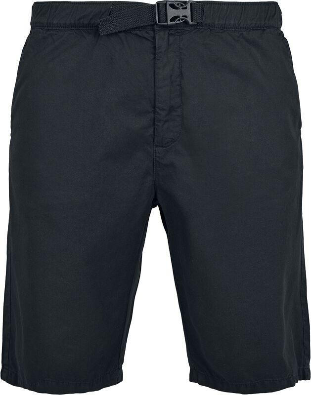 Straight Leg Chino Shorts with Belt