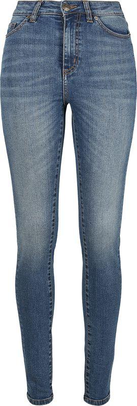 Skinny Jean Taille Haute