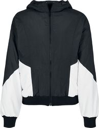 Ladies Padded 2-Tone Batwing Jacket