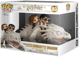 Harry, Hermione & Ron Riding Gringotts Dragon (Pop Rides) Vinylfiguur 93