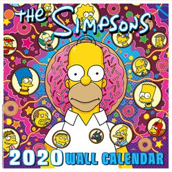 Simpsons 2020 Wall Calendar