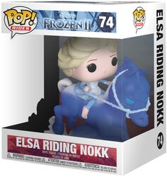 Elsa Riding Nokk (Pop Rides) Vinylfiguur 74
