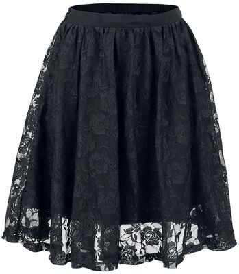 Lace Covered Skirt
