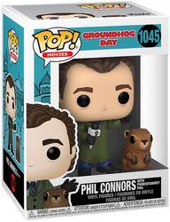 Groundhog Day Phil Connors with Punxsutawney Phil Vinylfiguur 1045