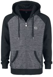 Grey/Black Hooded Jacket