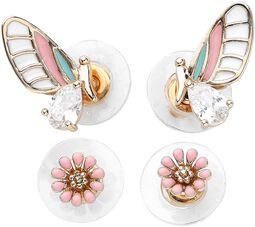 Butterfly Earrings Set