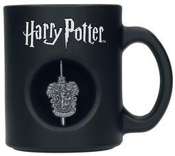 Gryffondor - Mug à emblème rotatif