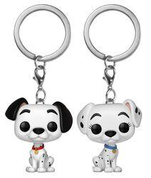 Pongo and Perdita  - POP! Keychain 2-Pack