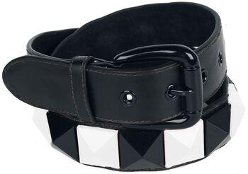 Belt with big studs