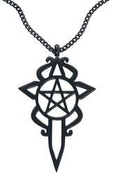 Collier Pentagramme & Dague