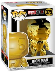 Marvel Studios 10 - Iron Man (Chrome) Vinylfiguur 375