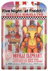 Pizza Simulator - Orville Elephant Actiefiguur