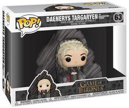 Figurine En Vinyle Daenerys Sur Le Trône De Peyredragon 63