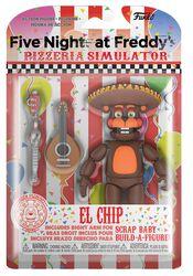 Pizza Simulator - El Chip Actiefiguur