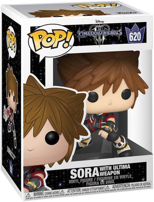 3 - Sora with Ultima Weapon Vinylfiguur 620