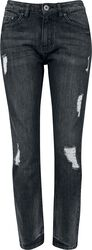 Ladies Boyfriend Denim Pants