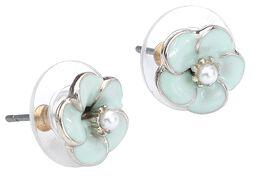 Small Rose Earrings