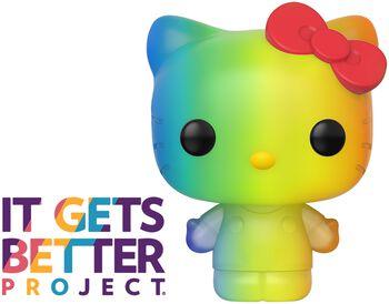 Pride 2020 - Hello Kitty (Rainbow) Vinyl Figur 28