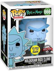Hologram Rick Clone Vinylfiguur 666