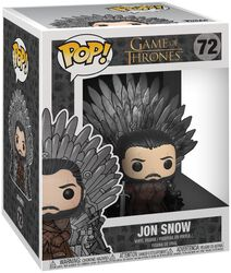 Jon Snow Iron Throne (POP Deluxe) Vinylfiguur 72