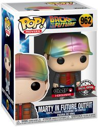Marty Tenue Du Futur (Métallique) - Funko Pop! n°962