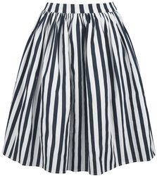 Jasmine Striped Swing Skirt