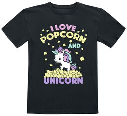 I Love Popcorn and Unicorn