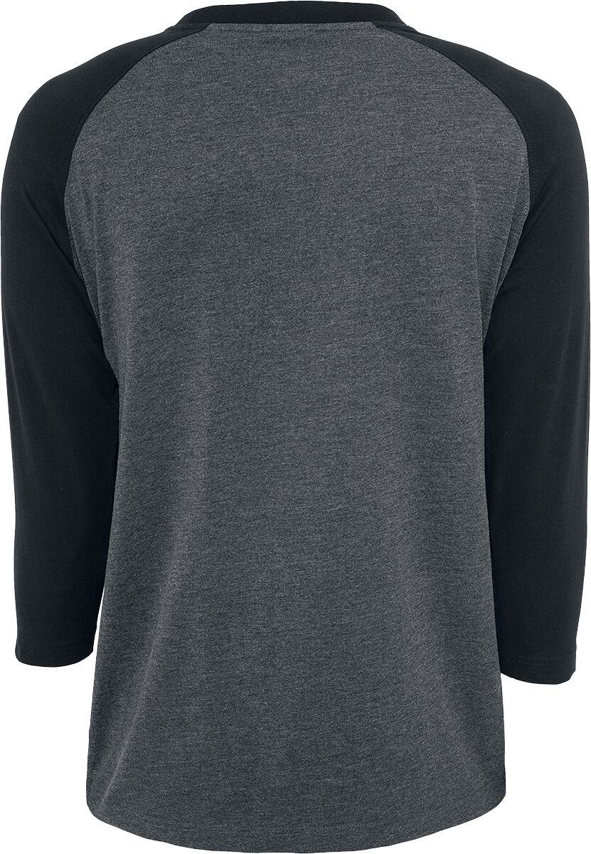 T-Shirt Manches 3 4 Contrast Raglan   Urban Classics T-shirt manches ... 1c37b877f2bc