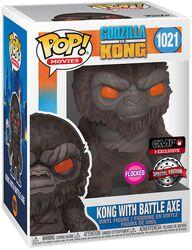 Kong with Battle Axe (Flocked) Vinylfiguur 1021