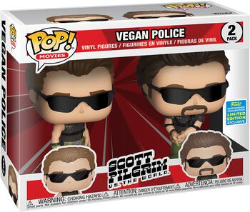 SDCC 2019 - Vegan Police (Funko Shop Europe) 2 Vinylfiguren